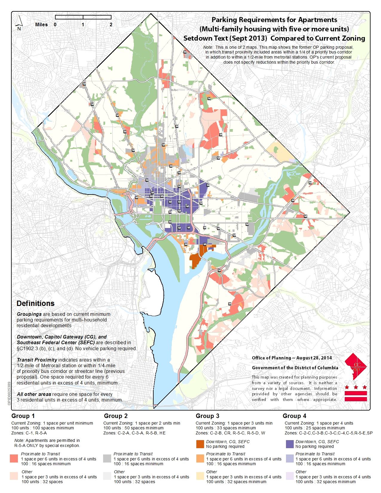 ZRR Parking Proposal Maps « ZoningDC on